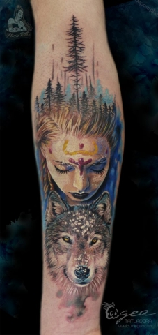 girl_wolf_tattoo
