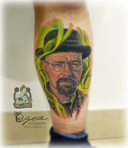breaking bad tattoo