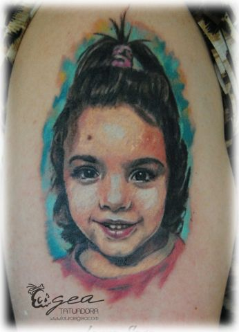 retrato tattoo