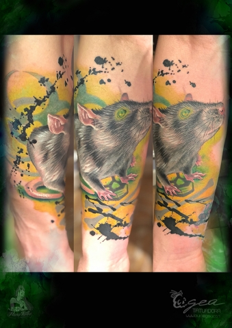 Rat tattoo
